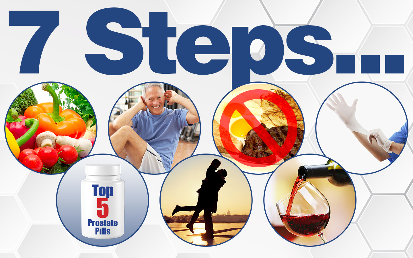 Seven Steps To A Healthy Prostate