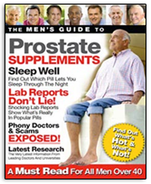 Mens Guide to Prostate Health