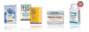 Products for Optimal Prostate Health