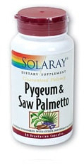 Solaray Pygeum and Saw Palmetto