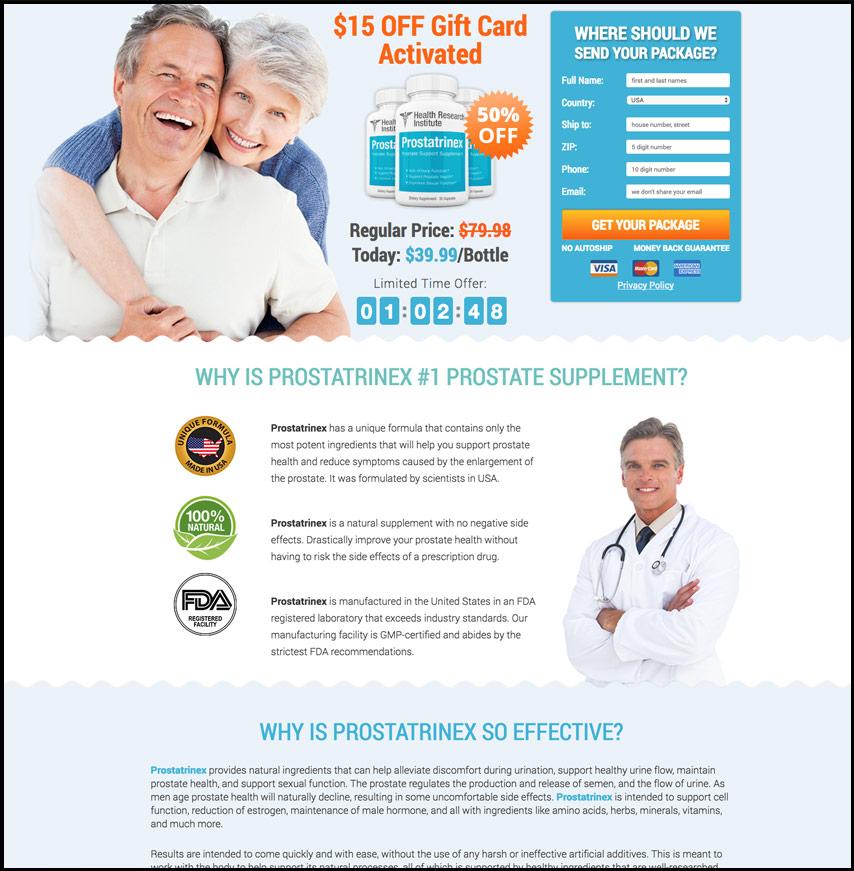 Prostatrinex Exposed