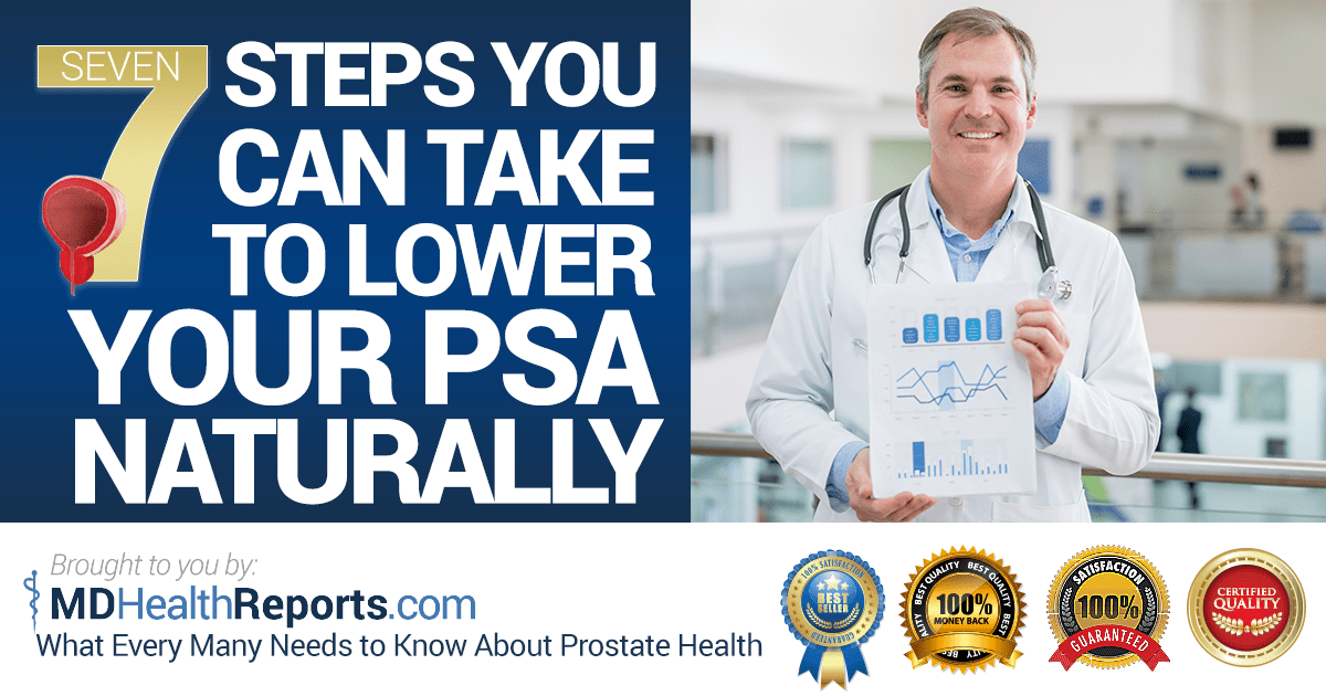 Seven Steps To Prostate Health Prostate Pill Report